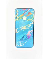 Θήκη σιλικόνης Μάρμαρο ανάγλυφο γαλάζια Huawei P40 Lite E Huawei P40 Lite E