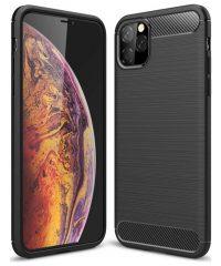 Carbon Back Cover Σιλικόνης Μαύρο iPhone 12 mini iPhone 12 mini