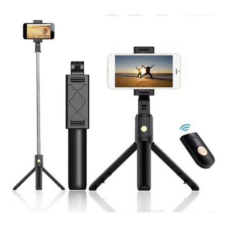 Combo selfie stick black K07 Gadget