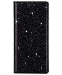 Glitter Magnetic Book Stand Case Μαύρο iPhone 11 iPhone 11