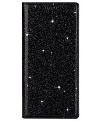 Glitter Magnetic Book stand Μαύρο  iPhone 11 Pro Max iPhone 11 Pro Max