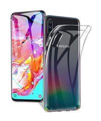 Θήκη Σιλικόνης διάφανη Samsung Galaxy A70 Samsung Galaxy A70