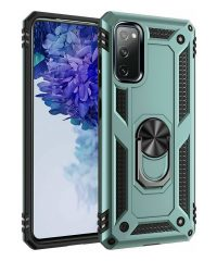Armor Case 360 Metal Rotating Ring-Car Holder Χακί for Samsung Galaxy A50/A30s Samsung Galaxy A30s / A50 / A50s