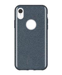 Θήκη σιλικόνης χρυσόσκονη μαύρη iphone Xr iPhone XR