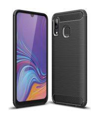 Carbon Back Cover Μαύρο Samsung Galaxy A40 Samsung Galaxy A40