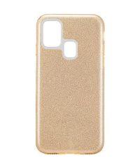 Θήκη σιλικόνης χρυσόσκονη Χρυσή Samsung Galaxy A21s SAMSUNG GALAXY A21S