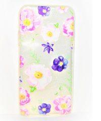 Θήκη σιλικόνης flowers iphone X/Xs iPhone X / XS