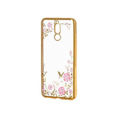 Θήκη Σιλικόνης Diamond Garden χρυσή Huawei Mate 10 lite HUAWEI MATE 10 LITE