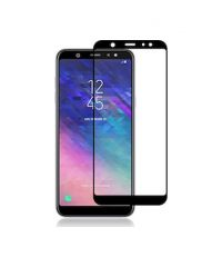 Full Face Tempered Glass Black (Galaxy A6 Plus 2018) TEMPERED GLASS ΓΙΑ ΚΙΝΗΤΟ
