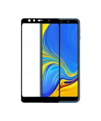 Full Face Tempered Glass Black  (A7 2018) SAMSUNG GALAXY A7 2018