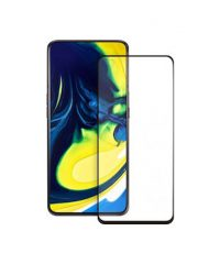 Full Face Tempered Glass Black  (Galaxy A80) TEMPERED GLASS ΓΙΑ ΚΙΝΗΤΟ