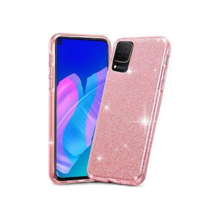 Θήκη σιλικόνης χρυσόσκονη Ροζ (Huawei P40) HUAWEI P40