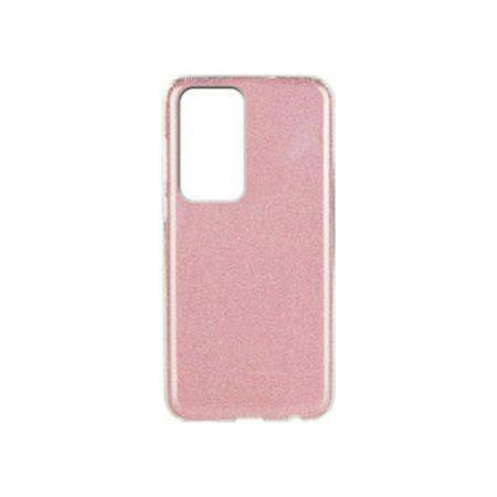 Θήκη Σιλικόνης Χρυσόσκονη ροζ για Huawei P40 Pro HUAWEI P40 PRO