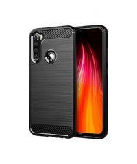 Carbon Back Cover Σιλικόνης  Μαύρο Xiaomi Redmi Note 8 t XIAOMI REDMI NOTE 8T