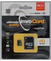 IMRO microSDHC 32GB U1 with Adapter  Class 10 ΑΞΕΣΟΥΑΡ