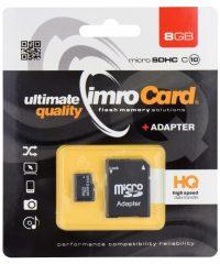 IMRO microSDHC 8GB  with Adapter ΑΞΕΣΟΥΑΡ