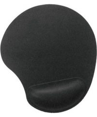 Mousepad with GEL Wrist Rest Support black Gadget