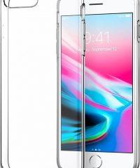 Θήκη Σιλικόνης Διάφανη  iPhone 7/8 Plus iPhone 7 Plus
