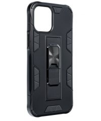 Defender Back Cover Πλαστικό Μαύρο iPhone 12 Pro Max iPhone 12 pro max