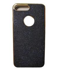 Θήκη Σιλικόνης χρυσόσκονη blue-black iPhone 7/8 Plus iPhone 7 Plus