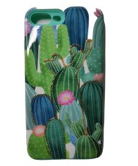 Θήκη Σιλικόνης σχέδιο cactus iPhone 7/8 Plus iPhone 7 Plus