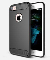 Carbon Back Cover Σιλικόνης Μαύρο iphone 7/8/SE2020 iPhone 7 / 8