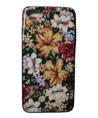 Θήκη Σιλικόνης σχέδιο flower  stras iPhone 7/8 Plus iPhone 7 Plus
