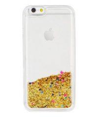 Θήκη Mε Υγρή Χρυσόσκονη Χρυσή iphone 7/8/SE2020 iPhone 7 / 8