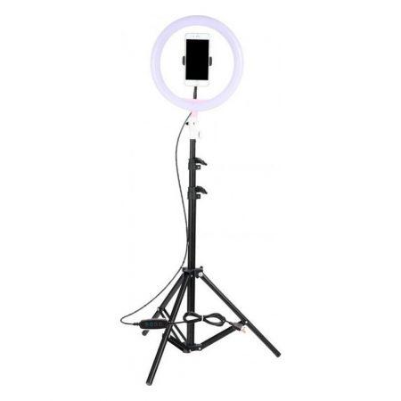 Ring Lamp Light LED USB Tripod Gadget