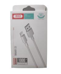 XO-NB156 LIGHTNING USB CABLE ΛΕΥΚΟ 5V/2,4A IPHONE