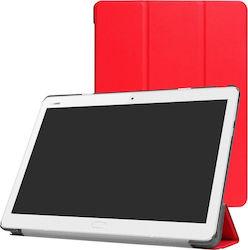 Tri-Fold Flip Cover For Huawei Mediapad M3 10″ Κόκκκινη Mediapad M3