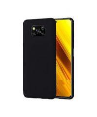 Θήκη Σιλικόνης Μαύρη Xiaomi Poco X3 NFC Xiaomi Poco X3
