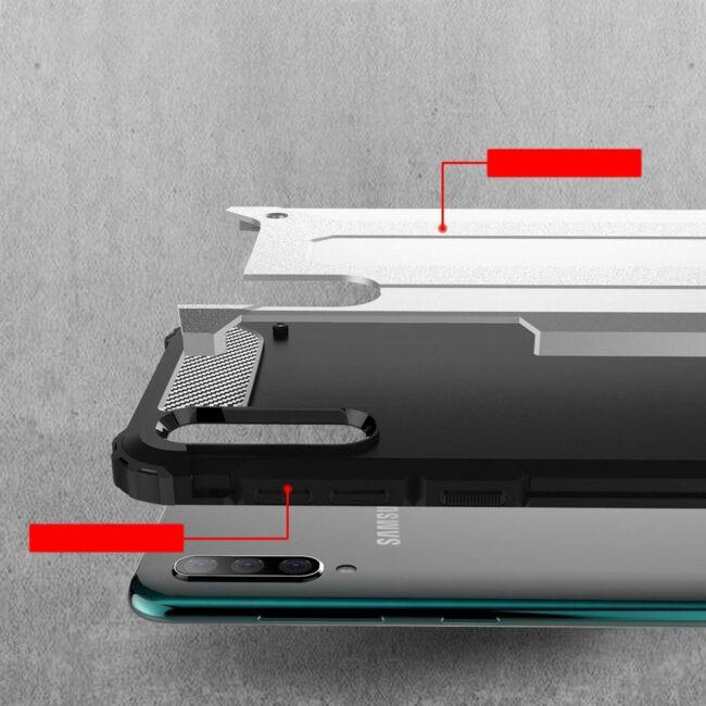 Armor Back Cover Μαύρο Samsung Galaxy A20s SAMSUNG GALAXY A20S