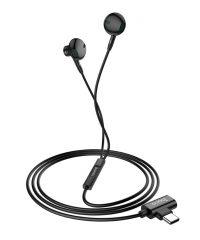 """Type-C """"L12 Earl Μαύρο Ακουστικά"""