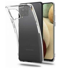 Θήκη σιλικόνης διάφανη Samsung Galaxy A12 SAMSUNG GALAXY A12