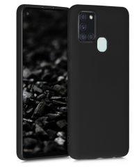 Θήκη σιλικόνης Μαύρο Samsung Galaxy A21s SAMSUNG GALAXY A21S
