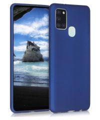 Θήκη σιλικόνης Μπλέ Samsung Galaxy A21s SAMSUNG GALAXY A21S