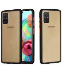 Θήκη Color Button Bumper Μαύρο για Samsung Galaxy A31 SAMSUNG GALAXY A31