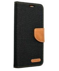 Canvas Book case Μαύρο Samsung Galaxy A52 SAMSUNG GALAXY A52