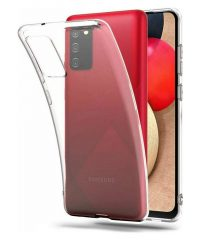Θήκη σιλικόνης Διάφανη Samsung Galaxy A02s SAMSUNG GALAXY A02S