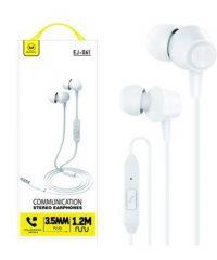 Mimacro EJ-061 Λευκό Ακουστικά
