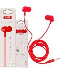XO-S6 Candy music Κόκκινο Ακουστικά