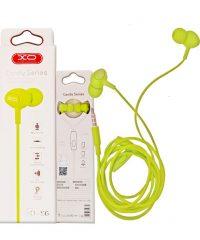 XO-S6 Candy music earphone Green Ακουστικά