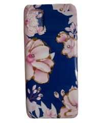 Θήκη σιλικόνης Flower Μπλέ Samsung Galaxy A31 SAMSUNG GALAXY A31